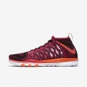 Nike zapatillas para hombre train ultrafast flyknit amp carmesí brillante/morado vivo/naranja total