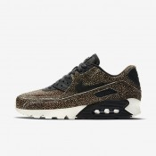 Nike zapatillas para mujer air max 90 lx marrón/negro/vela/negro