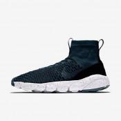 Nike zapatillas para hombre air footscape magista flyknit f.c. turquesa medianoche/negro/azul verdoso río/turquesa medianoche