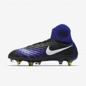 Nike zapatillas para hombre magista obra sg-pro anti clog traction negro/azul extraordinario/aluminio/blanco