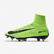 Nike zapatillas para hombre mercurial superfly v sg-pro anti-clog verde eléctrico/verde fantasma/blanco/negro