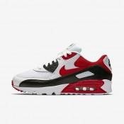 Nike zapatillas para hombre air max 90 essential blanco/negro/gris lobo/rojo universitario