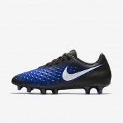 Nike zapatillas para hombre magista onda ii fg negro/azul extraordinario/tinte azul/blanco