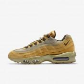 Nike zapatillas para hombre air max 95 premium bronce/bambú/marrón claro goma/marrón barroco