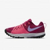 Nike zapatillas para mujer air zoom wildhorse 4 fucsia deportivo/rosa carrera/baya genuino/hortensias