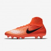 Nike zapatillas para hombre magista orden ii fg carmesí total/rojo universitario/mango brillante/negro