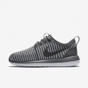 Nike zapatillas para mujer roshe two flyknit gris oscuro/platino puro/gris oscuro