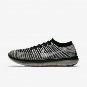 Nike zapatillas para hombre lab free rn motion flyknit negro/gris pálido/vela