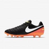 Nike zapatillas para hombre tiempo legacy ii ag-pro negro/hipernaranja/voltio/blanco