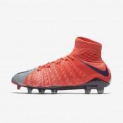 Nike zapatillas para mujer hypervenom phantom 3 df fg gris lobo/naranja máximo/melón brillante/morado dinastía