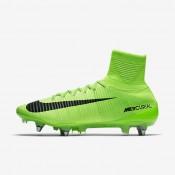 Nike zapatillas para hombre mercurial superfly v sg-pro verde eléctrico/verde fantasma/blanco/negro
