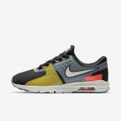Nike zapatillas para mujer air max zero si negro/gris azulado/carmesí total/hueso claro