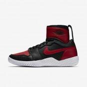 Nike zapatillas para mujer court flare 23 negro/rojo universitario/rojo universitario