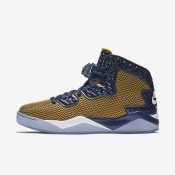 Nike zapatillas para hombre air jordan spike forty hoja oro/azul marino medianoche/blanco
