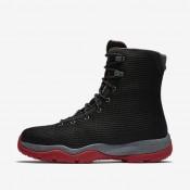 Nike zapatillas para hombre jordan future negro/gris azulado/antracita/rojo gimnasio
