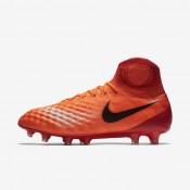 Nike zapatillas para hombre magista obra ii fg carmesí total/rojo universitario/mango brillante/negro