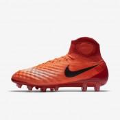 Nike zapatillas para hombre magista obra ii ag-pro carmesí total/rojo universitario/mango brillante/negro