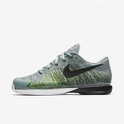 Nike zapatillas para hombre court zoom vapor 9.5 flyknit cañón/verde eléctrico/verde esmaltado/negro