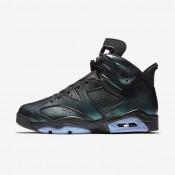 Nike zapatillas para hombre air jordan 6 retro negro/blanco/negro