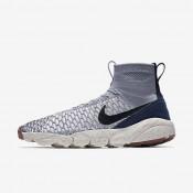 Nike zapatillas para hombre air footscape magista flyknit gris lobo/vela/obsidiana oscuro/negro