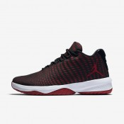 Nike zapatillas para hombre jordan b. fly negro/gris oscuro/blanco/rojo gimnasio