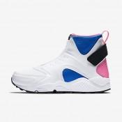 Nike zapatillas para mujer air huarache mid premium blanco/vuelo/rosa pow/negro