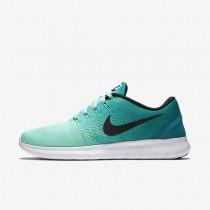 Nike zapatillas para hombre free rn hiperturquesa/azul verdoso río/voltio/negro