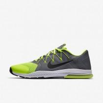 Nike zapatillas para hombre zoom train complete gris azulado/voltio/blanco/negro