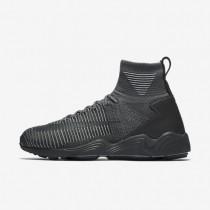 Nike zapatillas para hombre zoom mercurial flyknit gris oscuro/gris lobo/antracita