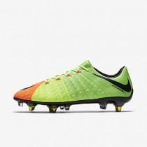 Nike zapatillas para hombre hypervenom phantom 3 sg-pro anti-clog verde eléctrico/hipernaranja/voltio/negro