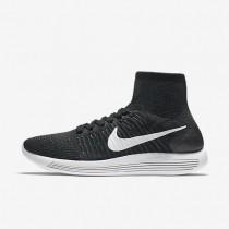 Nike zapatillas para hombre lunarepic flyknit negro/antracita/voltio/blanco