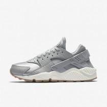 Nike zapatillas para mujer air huarache premium gris lobo/vela/marrón medio goma/gris lobo