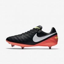 Nike zapatillas para hombre tiempo legacy ii sg negro/hipernaranja/voltio/blanco