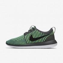 Nike zapatillas para hombre roshe two flyknit gris oscuro/azul gamma/voltio/negro