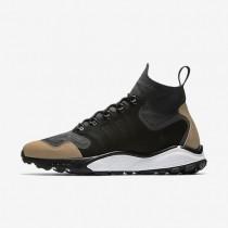 Nike zapatillas para hombre air zoom talaria mid flyknit premium antracita/tostado vachetta/gris oscuro/negro