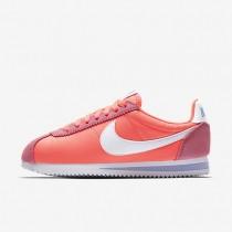 Nike zapatillas para mujer classic cortez nylon rosa carrera/aluminio/blanco