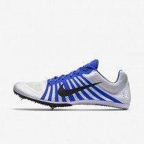 Nike zapatillas unisex zoom d blanco/azul carrera/negro