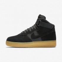 Nike zapatillas para hombre air force 1 07 high lv8 negro/marrón claro goma/blanco/negro