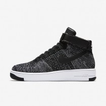 Nike zapatillas para hombre air force 1 ultra flyknit negro/blanco/negro