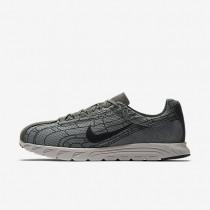 Nike zapatillas para hombre mayfly gris rugoso/mena de hierro claro/peltre intenso