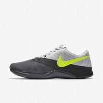 Nike zapatillas para hombre fs lite trainer 4 gris oscuro/platino puro/antracita/voltio