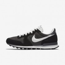 Nike zapatillas para hombre internationalist peltre intenso/negro/antracita/vela