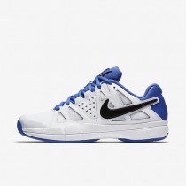 Nike zapatillas para hombre court air vapor advantage blanco/azul medio/negro/negro