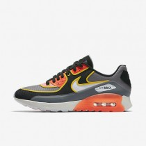 Nike zapatillas para mujer air max 90 ultra 2.0 si gris azulado/negro/carmesí total/hueso claro