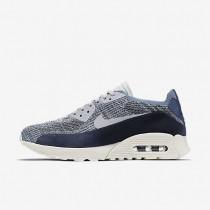 Nike zapatillas para mujer air max 90 ultra 2.0 flyknit pncl niebla océano/platino puro