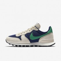 Nike zapatillas para mujer internationalist azul binario/crudo/vela/verde estadio