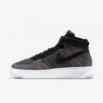 Nike zapatillas para hombre air force 1 ultra flyknit negro/rosa intenso/blanco/negro
