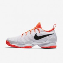 Nike zapatillas para mujer court air zoom ultra react blanco/hipernaranja/negro