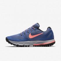 Nike zapatillas para mujer air zoom wildhorse 3 azul luna/vuelo/royal team/lava resplandor
