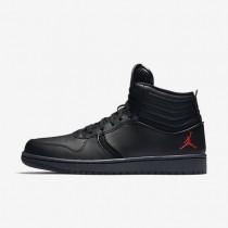 Nike zapatillas para hombre jordan heritage negro/antracita/rojo gimnasio